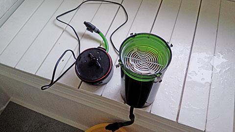 エーハイムクラシックフィルター2213のメンテナンスと洗い方